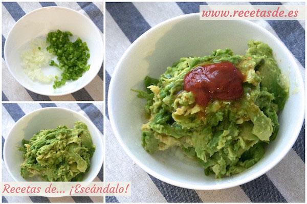 Cómo hacer guacamole casero, la receta