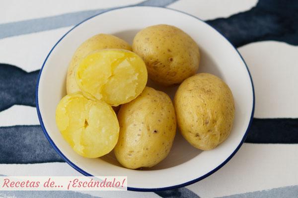 Como hacer patatas al microondas