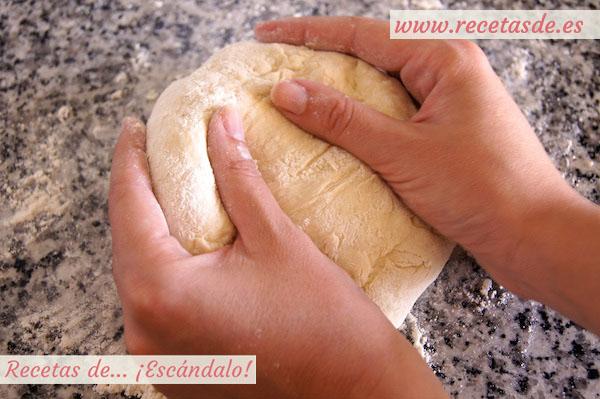 Masa de pizza, receta casera
