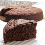 Bizcocho de chocolate casero y fácil
