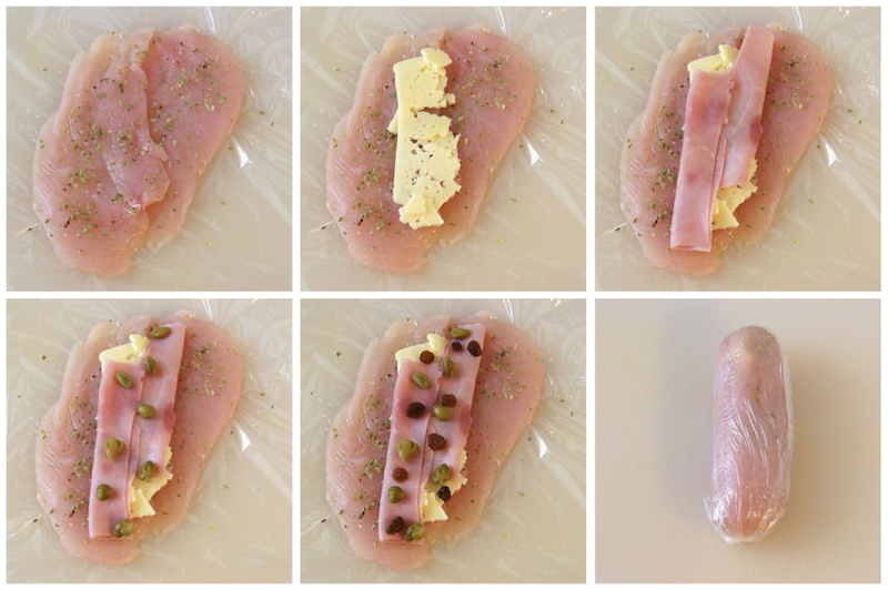 Pechugas de pollo rellenas de jam n y queso recetas de esc ndalo - Salsas para pechuga de pollo ...