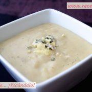 Salsa roquefort sin nata
