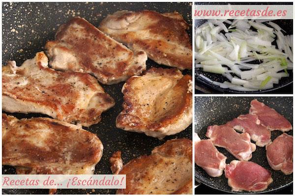Cómo hacer solomillo de cerdo en salsa al Pedro Ximénez