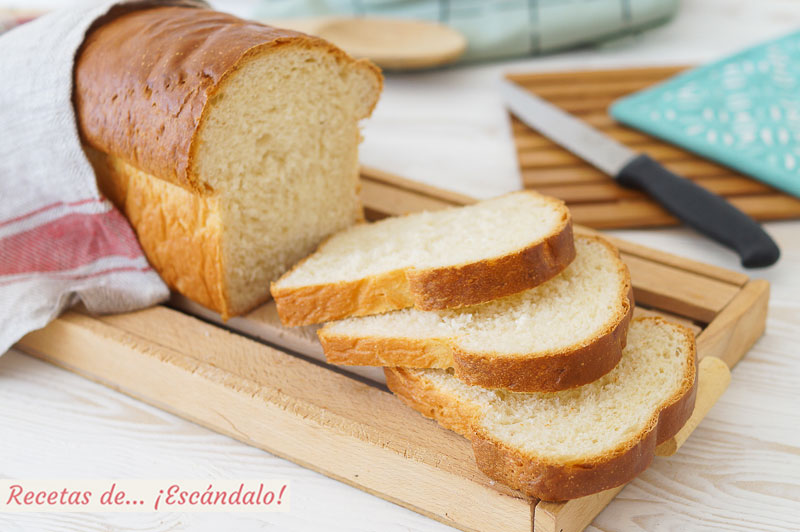 Pan de molde casero y facil