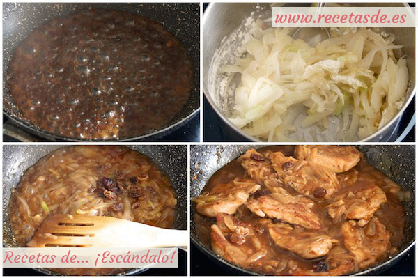Receta de solomillo de cerdo en salsa al Pedro Ximénez