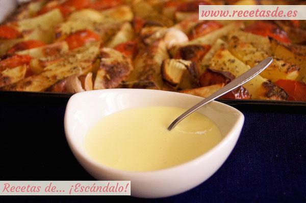 Receta de lactonesa, la mayonesa o alioli sin huevo