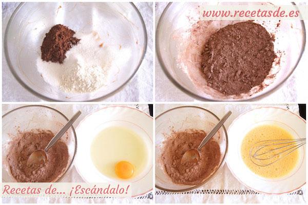 Cómo preparar mug cake de chocolate y nueces al microondas en taza