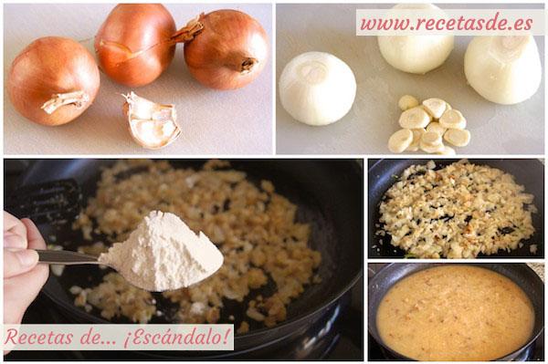 Cómo preparar la receta de merluza en salsa verde con almejas, muy fácil