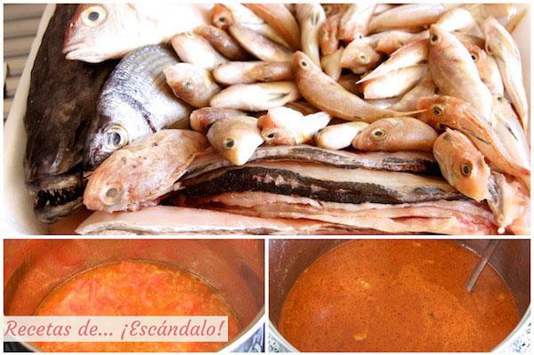 Cómo hacer la receta de Caldero del Mar Menor, el arroz a banda murciano