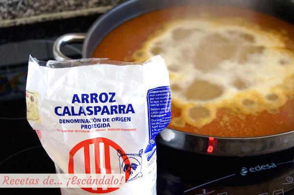 Caldero del Mar Menor con arroz de Calasparra