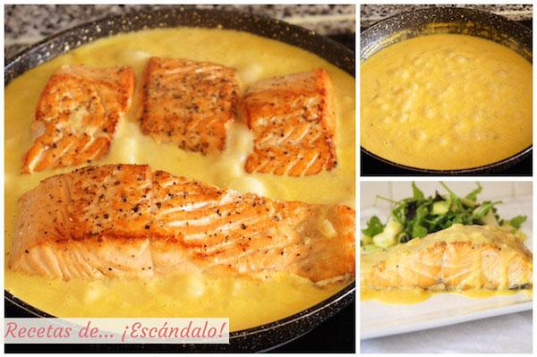 Como preparar salmon a la plancha en salsa a la naranja