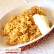 Caldero del Mar Menor, el arroz a banda murciano