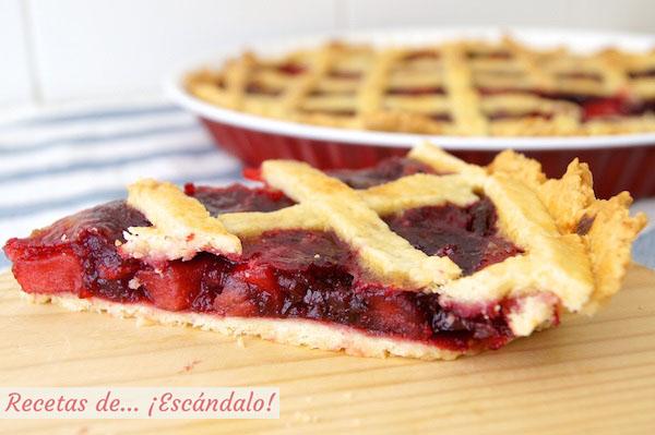 Tarta de cerezas americana o Cherry Pie