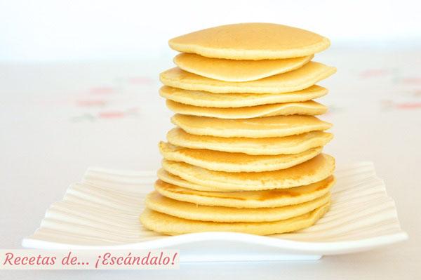 Tortitas americanas caseras o pancakes, la mejor receta