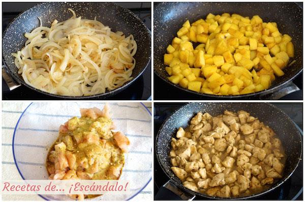 Como preparar ensalada de arroz y pollo al lemongrass con mango