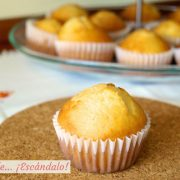 Magdalenas caseras y esponjosas, receta tradicional