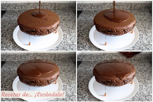 Glaseado de chocolate para la Tarta Sacher