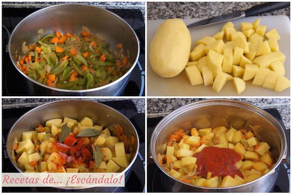 Como hacer marmitako de atun