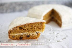 Tarta de zanahoria o carrot cake, la receta de un pastel irresistible