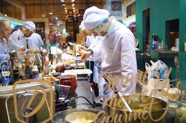 Cocina en directo en delgado seleccion en salon de gourmets 2016