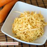 Cómo hacer ensalada de col y zanahorias americana o coleslaw