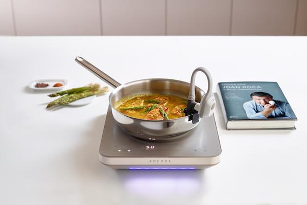 Rocook placa de induccion para cocina a baja temperatura