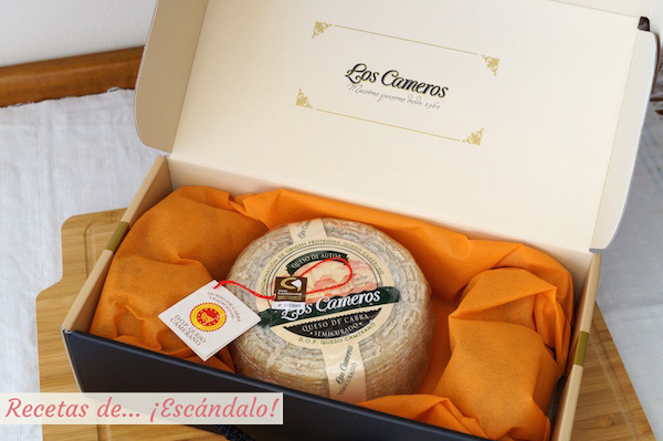 Queso D.O.P. Camerano y su packaging