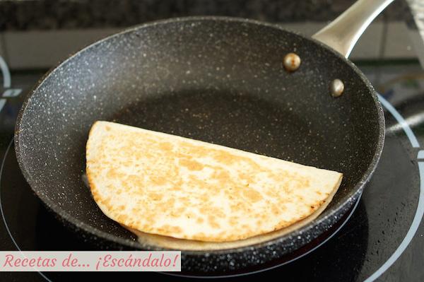 Receta de quesadillas mexicanas de jamon y queso