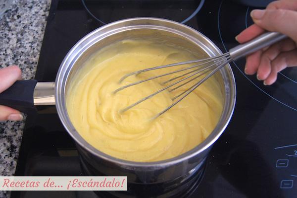 Crema pastelera casera, como hacer la receta de forma facil y perfecta