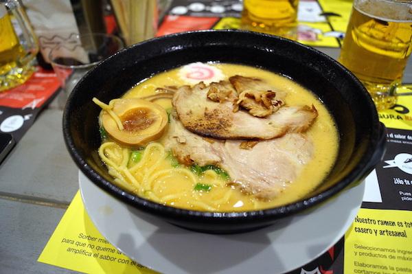 Ramen tonkotsu miso