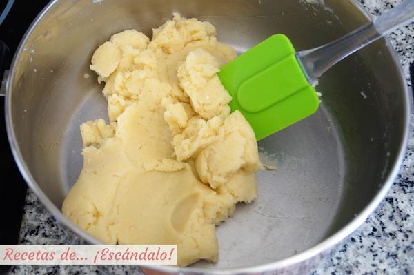 Pasta choux casera para crullers