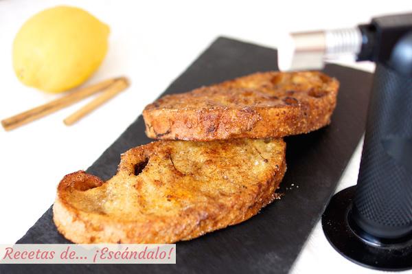 Receta de torrijas caseras de pan y leche, las tradicionales