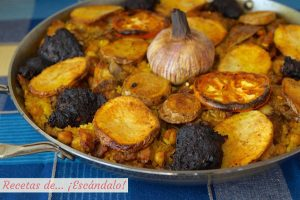 Arroz al horno valenciano