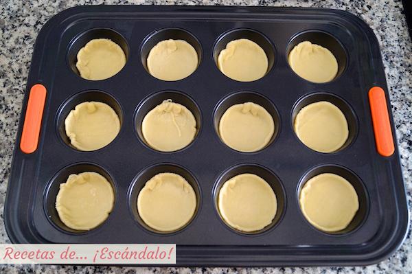Hojaldre para los pasteis de nata