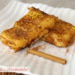 Leche frita casera, receta tradicional