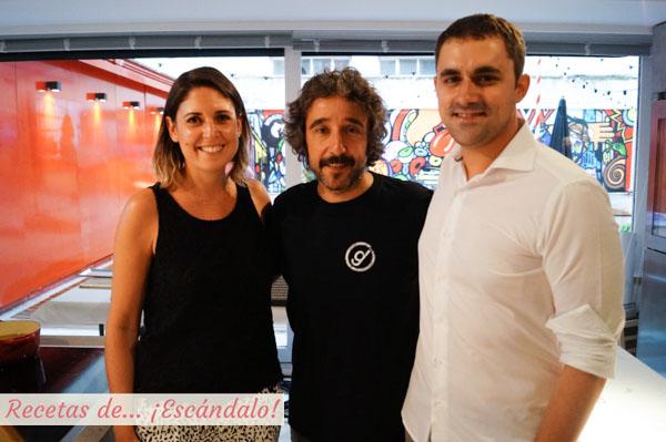 Natalia y Manuel de Recetas de Escandalo con Diego Guerrero