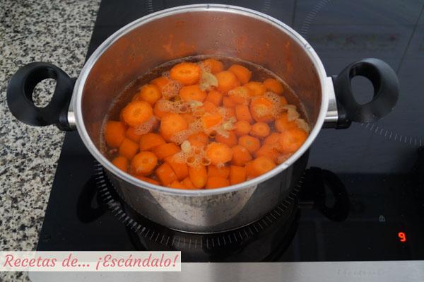 Zanahorias cocidas