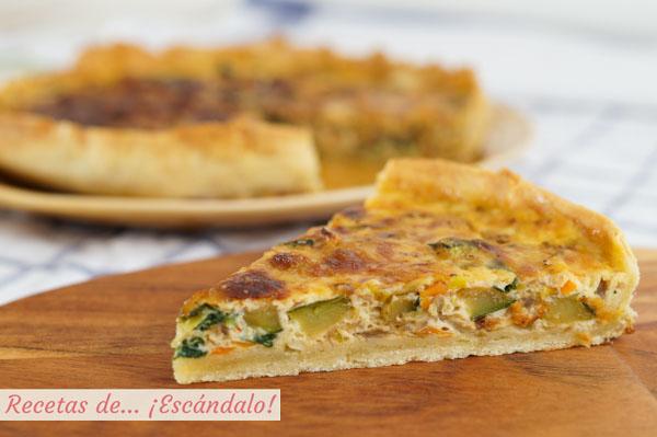 receta de quiche de verduras y queso recetas de esc ndalo