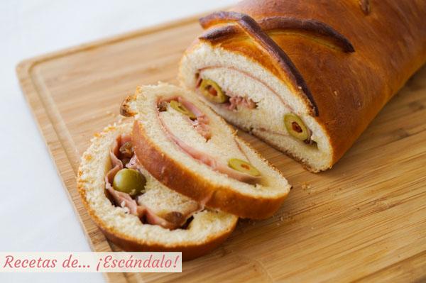 Pan de jamon venezolano