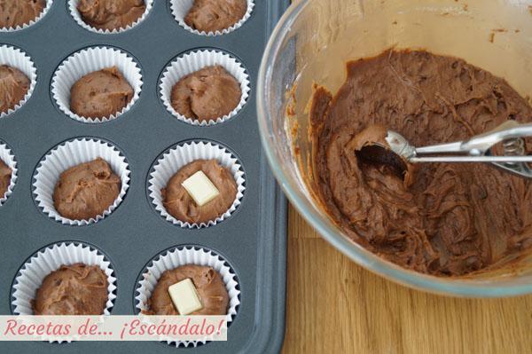 Como rellenar capsulas de muffins