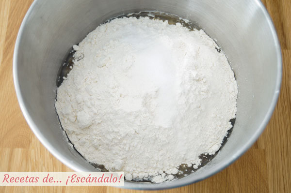 Ingredientes pan de avena de molde