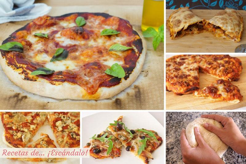 Pizzas, las mejores recetas y como preparar masa de pizza casera