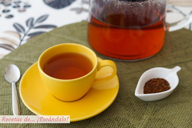 Aprende a preparar te rooibos para disfrutar de todo su sabor y propiedades