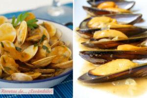 La mejor salsa marinera para almejas y mejillones