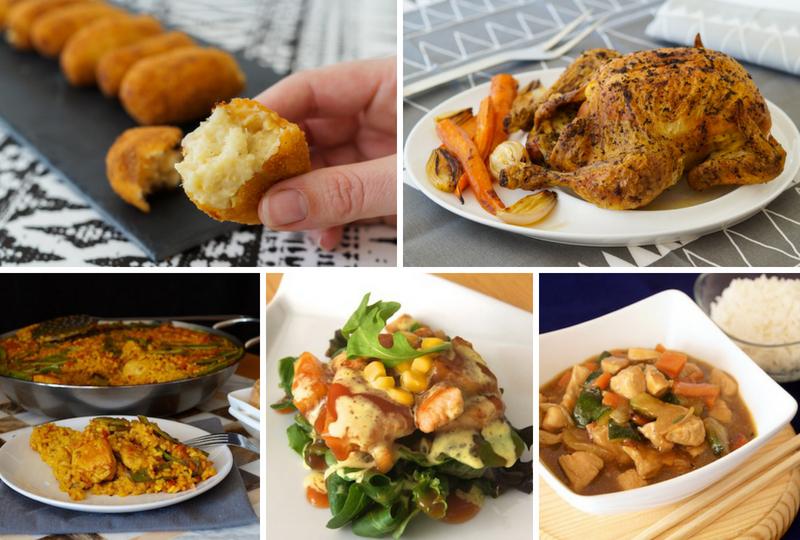 Las mejores recetas con pollo, faciles, ricas y explicadas paso a paso