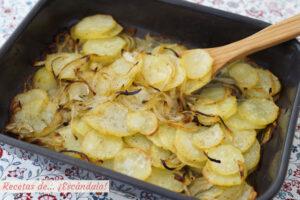 Patatas panaderas al horno. La receta mas facil y con mejor resultado