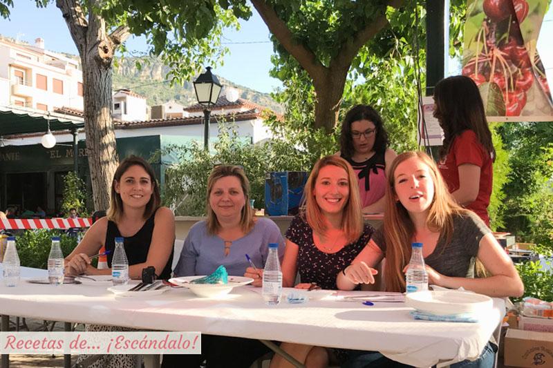 Concurso Alta Cocina Castillo de Locubin Cereza