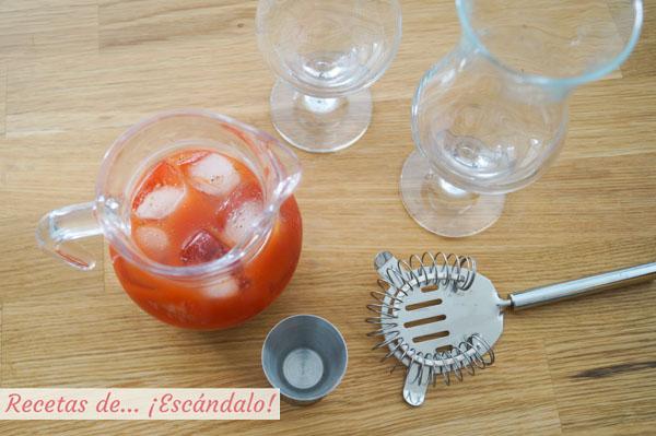 Bloody Mery receta casera