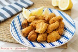 Cazón en adobo o bienmesabe, un aperitivo riquísimo con pescado