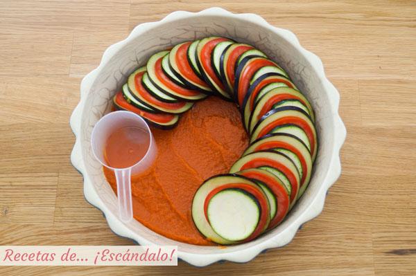 Como hacer ratatouille de verduras